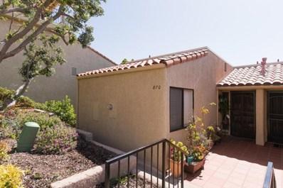 870 Casmalia Lane UNIT 53, Ventura, CA 93001 - MLS#: 218006116