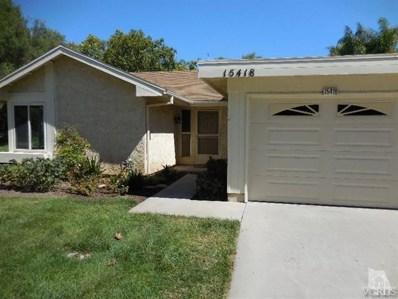 15418 Village 15, Camarillo, CA 93012 - MLS#: 218006236