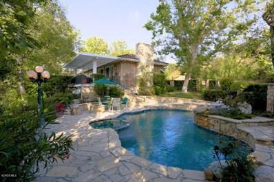 4539 Valley Spring Drive, Westlake Village, CA 91362 - MLS#: 218006528