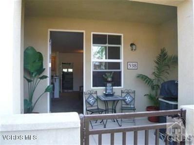 209 Riverdale Court UNIT 538, Camarillo, CA 93012 - MLS#: 218006670