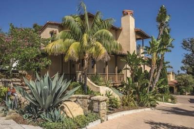 1030 Canon Perdido Street, Santa Barbara, CA 93103 - MLS#: 218006681