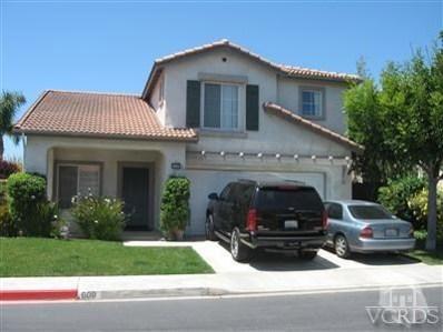609 Vista Del Sol, Camarillo, CA 93010 - MLS#: 218006682
