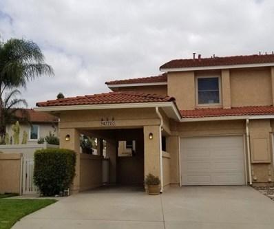 4772 Justin Court, Moorpark, CA 93021 - MLS#: 218007391