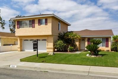 356 Peralta Street, Santa Paula, CA 93060 - MLS#: 218008037