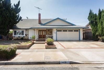1031 Gardner Avenue, Ventura, CA 93004 - MLS#: 218008618