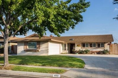 652 Leonard Street, Camarillo, CA 93010 - MLS#: 218008703