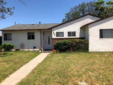 1265 Juniper Street, Oxnard, CA 93033 - MLS#: 218008887