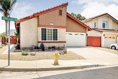15492 Dracena Avenue, Moorpark, CA 93021 - MLS#: 218008941