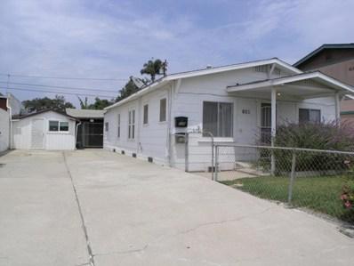 137 Barnett Street, Ventura, CA 93001 - MLS#: 218009083