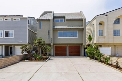 1617 Ocean Drive, Oxnard, CA 93035 - MLS#: 218009468