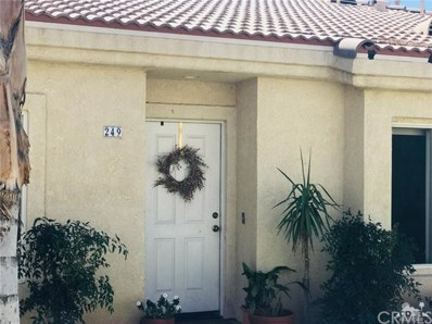 47395 Monroe Street UNIT 249, Indio, CA 92201 - MLS#: 218009592DA