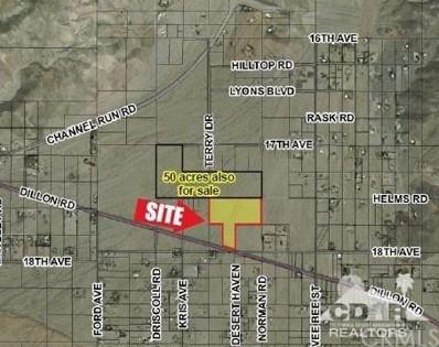 Dillon Rd, Sky Valley, CA 92241 - MLS#: 218009668DA