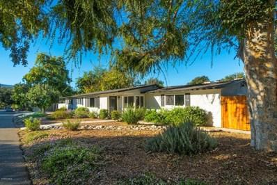 413 Buena Vista Drive, Ojai, CA 93023 - MLS#: 218009673