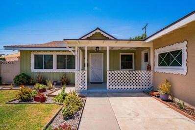 465 Merritt Avenue, Camarillo, CA 93010 - MLS#: 218009674