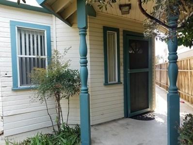 170 Pacific Avenue, Ventura, CA 93001 - MLS#: 218010146