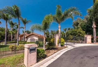 2823 Las Posas Circle, Camarillo, CA 93012 - MLS#: 218010201