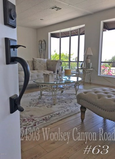 24303 Woolsey Canyon Road UNIT 63, Canoga Park, CA 91304 - MLS#: 218010218