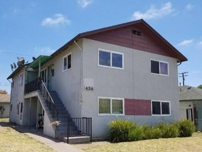 438 G Street UNIT 3, Oxnard, CA 93030 - MLS#: 218010226