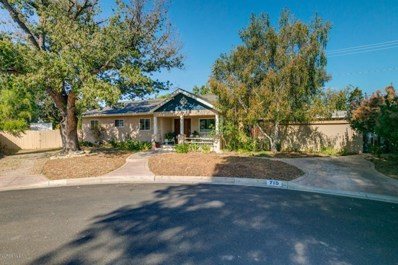 715 Sunset Place, Ojai, CA 93023 - MLS#: 218010390