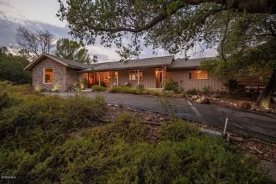 514 Vista Hermosa Drive, Ojai, CA 93023 - MLS#: 218010392