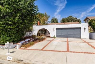 28781 Eagleton Street, Agoura Hills, CA 91301 - MLS#: 218010695