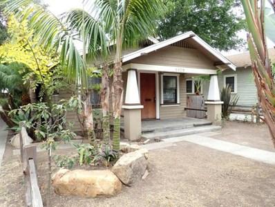 1809 San Andres Street, Santa Barbara, CA 93101 - MLS#: 218010703