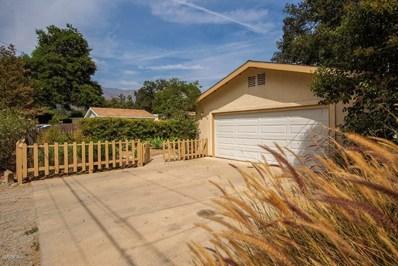 260 Poli Street, Ojai, CA 93023 - MLS#: 218010746