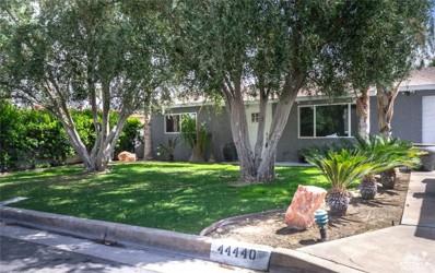 44440 San Luis Rey Avenue, Palm Desert, CA 92260 - MLS#: 218010798DA