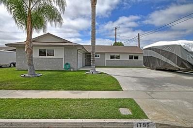 1795 Loma Drive, Camarillo, CA 93010 - MLS#: 218011228