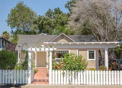 1624 San Andres Street, Santa Barbara, CA 93101 - MLS#: 218011719
