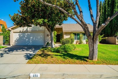 151 Mesa Avenue, Newbury Park, CA 91320 - MLS#: 218011776