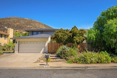 449 Grand Oak Lane, Thousand Oaks, CA 91360 - MLS#: 218011932
