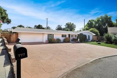 777 Calle Naranjo, Thousand Oaks, CA 91360 - MLS#: 218012077