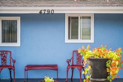 4790 Lafayette Street, Ventura, CA 93003 - MLS#: 218012903