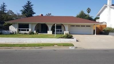 1475 Calle La Cumbre, Camarillo, CA 93010 - MLS#: 218013268