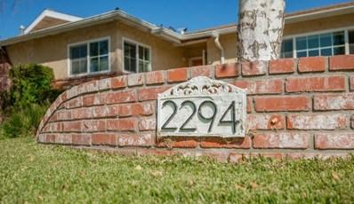2294 Marshall Avenue, Simi Valley, CA 93063 - MLS#: 218013356