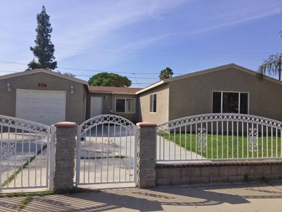 739 Virginia Avenue, Ontario, CA 91764 - MLS#: 218013551
