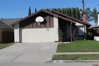 4365 Woodglen Drive, Moorpark, CA 93021 - MLS#: 218013638