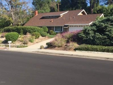 2129 Montrose Drive, Thousand Oaks, CA 91362 - MLS#: 218013801