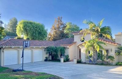 1421 Pleasant Oaks Place, Thousand Oaks, CA 91362 - MLS#: 218013837