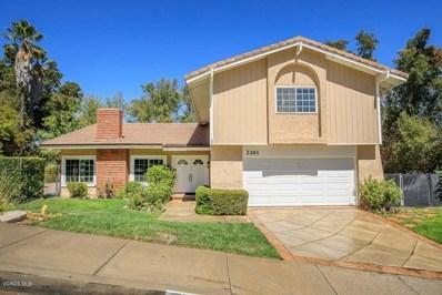 2261 Hillsbury Road, Westlake Village, CA 91361 - MLS#: 218014651