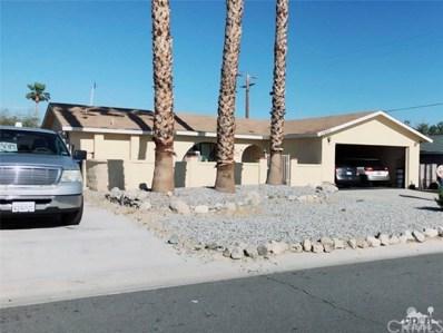 13900 Sarita Drive, Desert Hot Springs, CA 92240 - MLS#: 218014654DA
