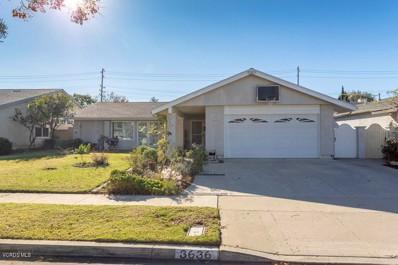 3636 Woodhaven Street, Simi Valley, CA 93063 - MLS#: 218014791