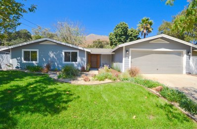 522 Pleasant Avenue, Ojai, CA 93023 - MLS#: 218014833