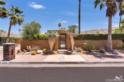 2456 Caliente Drive, Palm Springs, CA 92264 - #: 218017388DA