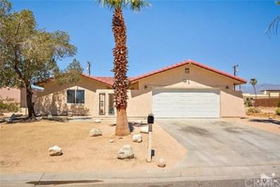 13835 Sarita Drive, Desert Hot Springs, CA 92240 - MLS#: 218018316DA