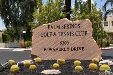 5300 Waverly Drive UNIT H-14, Palm Springs, CA 92264 - MLS#: 218022294DA