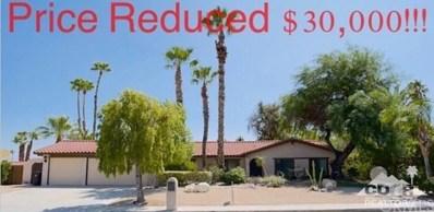 1233 Via Escuela, Palm Springs, CA 92262 - MLS#: 218024974DA