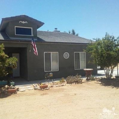 60779 Sunny Sands Drive, Joshua Tree, CA 92252 - MLS#: 218027530DA