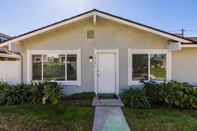 3452 Lockwood Court UNIT 20, Simi Valley, CA 93063 - MLS#: 219001926
